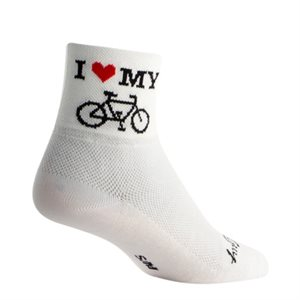 Heart My Bike socks