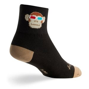 Monkey See 3D socks