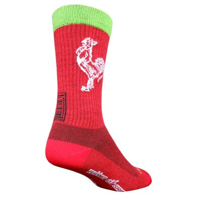 Sriracha Wool socks