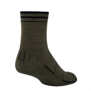 Wooligan Olive socks