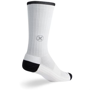 "SGX White 8"" socks"